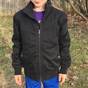 🆕List! Men's H&M Black Cool Weather Jacket! EUC!